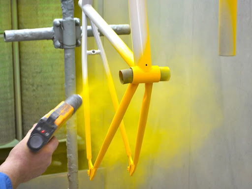 Powder Paint Coating on Stainless Steel