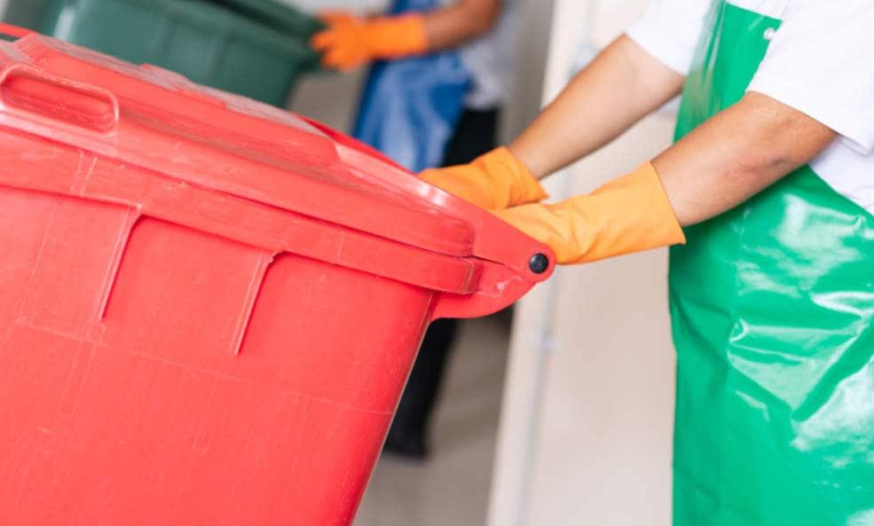 recogida de residuos sanitarios