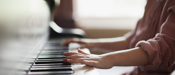 successful in learning piano