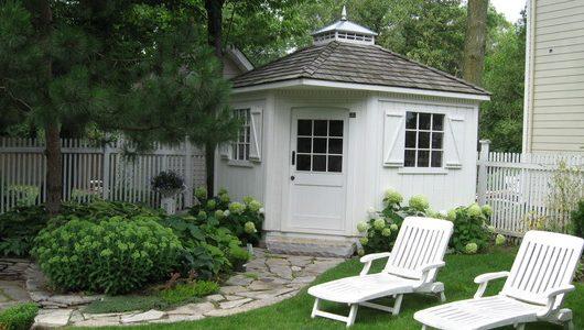 luxury garden sheds